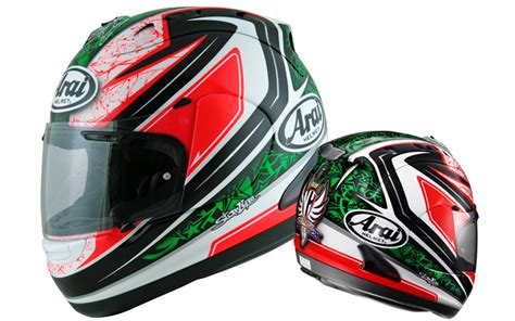 arai rx 7 gp nicky hayden review superbike magazine