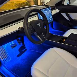 Because the interior deserves some love too. New blue footwell lights and perfor... - #blue # ...