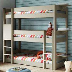 triple bunk beds  plans initials amazing beds