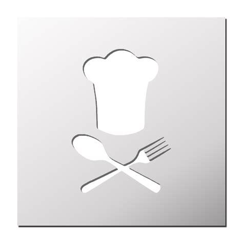pochoir chef de cuisine boutique pochoirs stickers