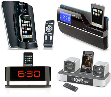 iphone alarm clock 7 iphone docks with digital alarm digsdigs