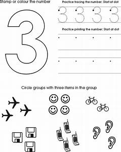 number three worksheet free preschool printable zuelen With traceable letters and numbers for preschoolers