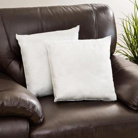 walmart pillow forms pellon decorative pillow inserts set of 2 walmart