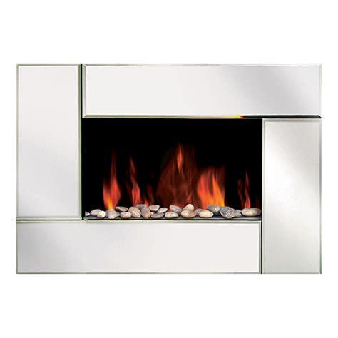 modern homes  wall mount bevel edge mirror fireplace