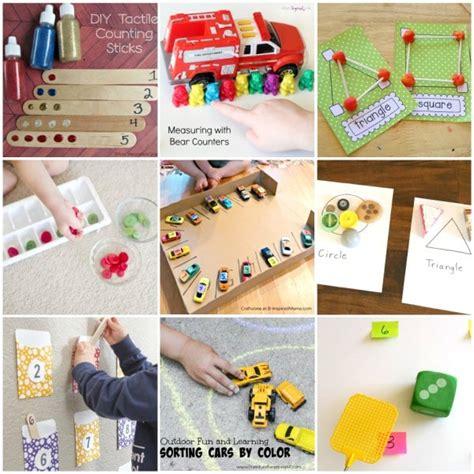preschool math activities that are 937 | Preschool Math Activities Collage 2