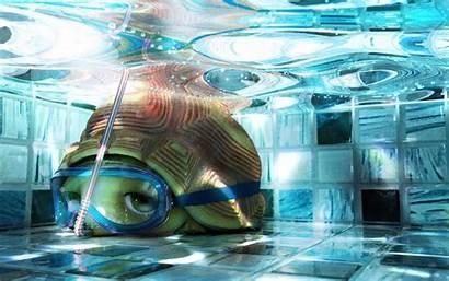 Turtle Wallpapers Tortoise Turtles 3d Ninja Underwater