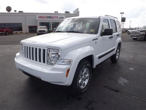 jeep chrysler white new 2012 jeep liberty sport 4x4 for sale stock cw131405