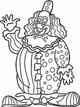 Clown Coloring Pages Printable Ausmalbilder Zum Ausdrucken Drawing Scary Kleurplaten Clowns Circus Adult Rodeo Krusty Killer Getcolorings Sheets Sheet Popular sketch template