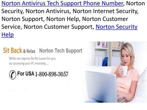 norton customer service phone number ppt 1 800 898 3057 norotn customer service phone number