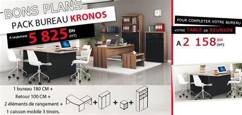 maroc bureau kitea bons plans pack bureau kronos prix a seulement