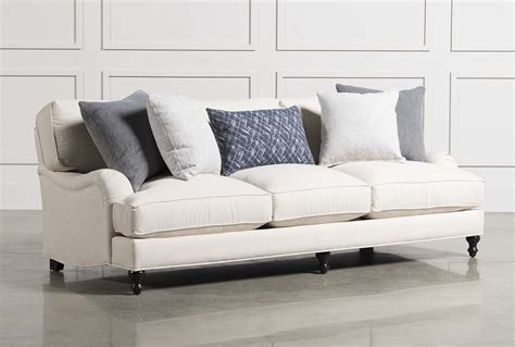 living spaces leather sofa abigail sofa living spaces