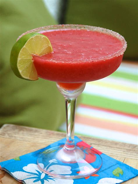 margarita recipes the best frozen strawberry margarita cocktail recipe this girl walks into a bar it s happy