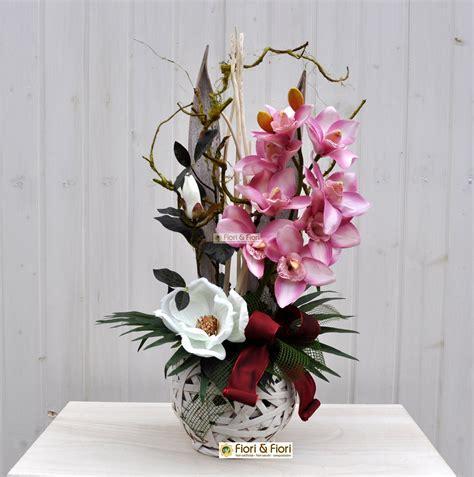 mazzi di fiori finti composizione fiori artificiali jacqueline per arredamenti