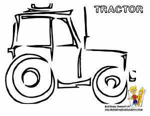 Simple Tractor Outline | www.imgkid.com - The Image Kid ...