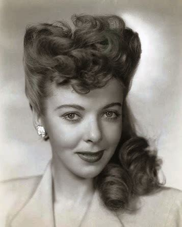 1940s Pompadour Hairstyle by Lavender Twill Pin Curls 101 The Curl Brush Out