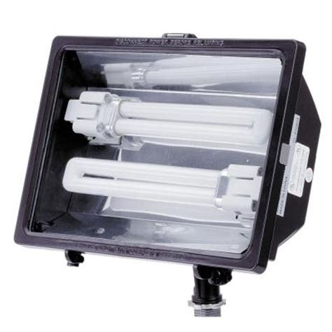lithonia lighting 13 watt cfl outdoor bronze mini