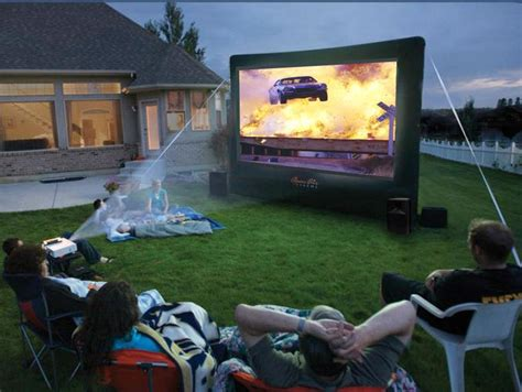 Backyard Movie Party Rentals