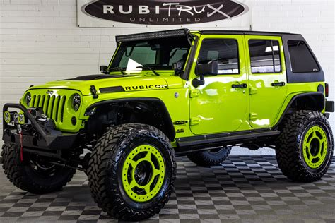 green jeep wrangler 2017 jeep wrangler rubicon unlimited hyper green