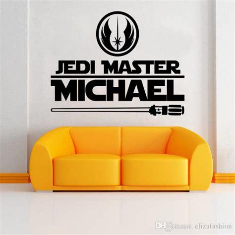 jedi master michael decals wars wall decals murals sticker boys room bedroom