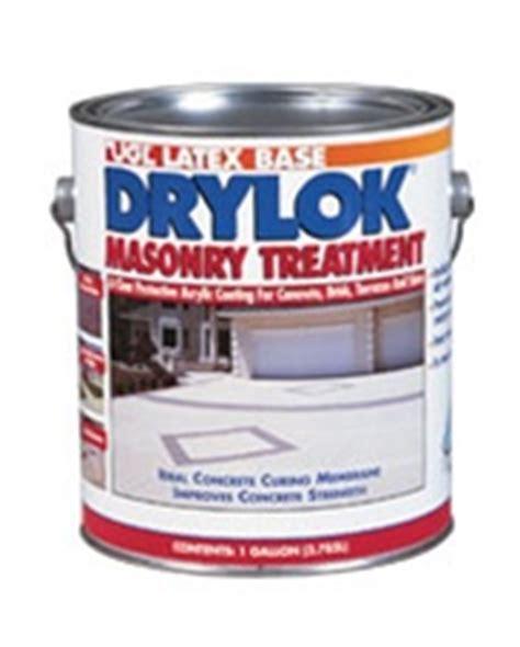 ugl drylok masonry treatment