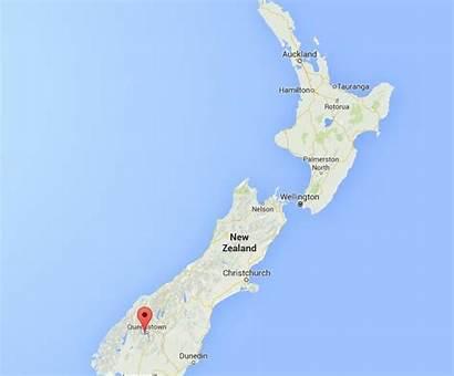 Wakatipu Lake Map Zealand Location