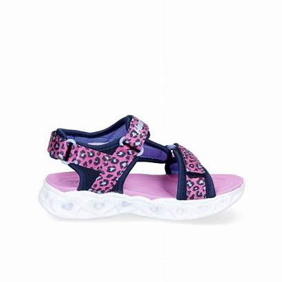Kinder Savvy Klett Sandale Skechers Cat Schuhpark