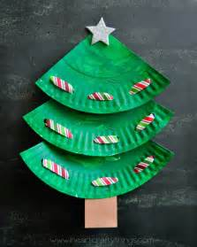 i heart crafty things paper plate laced christmas tree craft