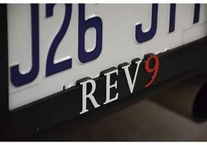 Rev9 License Plate Frame For Mazda Miata Mx5 Na Nb Nc Nd