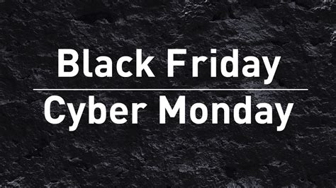 stop shop black fridaycyber monday deals newsshooter