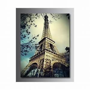 Tour Eiffel Deco : tableaux toile d co tour eiffel art d co stickers ~ Teatrodelosmanantiales.com Idées de Décoration