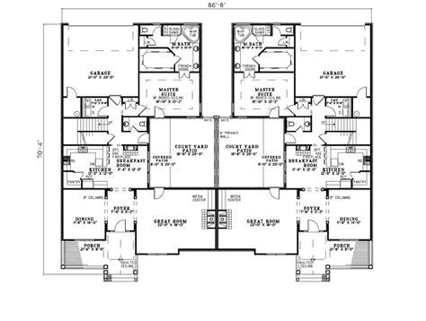 multi family home plans smalltowndjscom