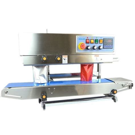 cps  vertical band sealer date printing table top pouch sealer