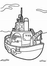 Boat Coloring Fishing Higglytown Heroes Sky sketch template