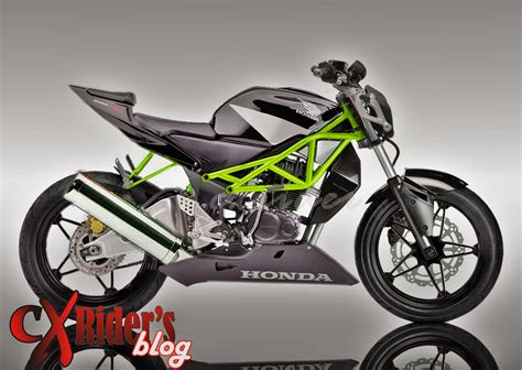 Tiger Modifikasi Drag by Modifikasi Motor Honda Tiger Fighter Thecitycyclist