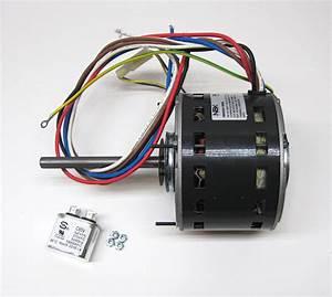 Furnace Air Handler Blower Motor 1  6 Hp 1075 Rpm 115 Volt 3 Speed For Fasco D928