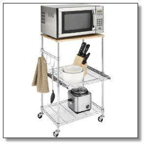 17 Best images about Microwave Cart with Storage on