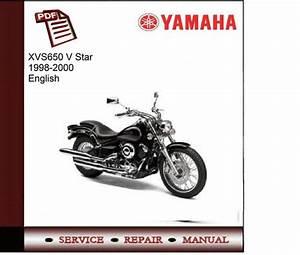 Yamaha Xvs650 V Star 1998-2000 Service Manual