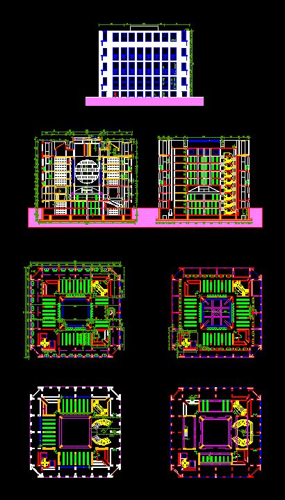 exeter library dwg block  autocad designs cad