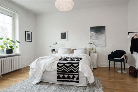 chambre esprit scandinave appartement familial à la décoration scandinave