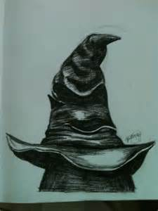 Harry Potter Sorting Hat Drawing