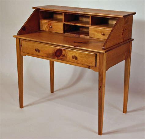 shaker style secretary desk custom made shaker white pine writing desk by white sands