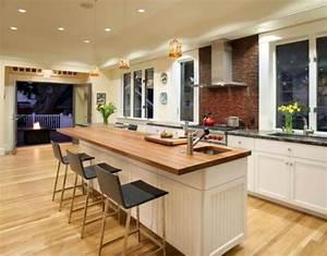 Ilot Bar Cuisine : d couvrez nos 84 jolies propositions pour cuisine avec bar ~ Melissatoandfro.com Idées de Décoration