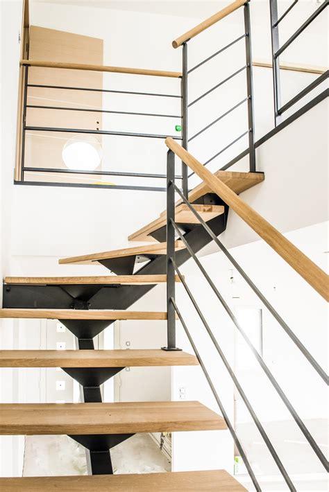 plan chambre salle de bain rambarde d 39 escalier en acier tige et bois