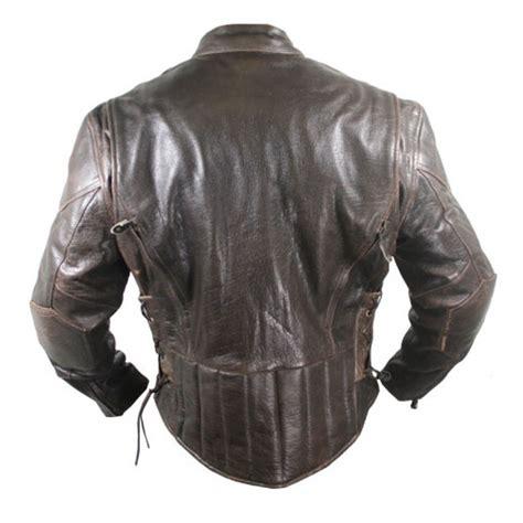 retro motorcycle jacket retro brown premium speedster motorcycle jackets