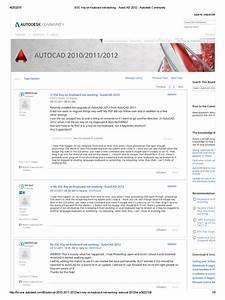 Esc Key On Keyboard Not Working - Autocad 2012