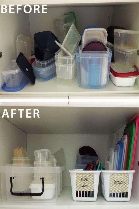 step  step guide  organising  food storage