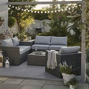 Salon De Jardin Sulana 2 Effet Rsine Tresse Salon De