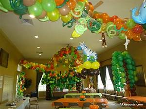 DreamARK Events Blog: Tropical/ Jungle Birthday Party