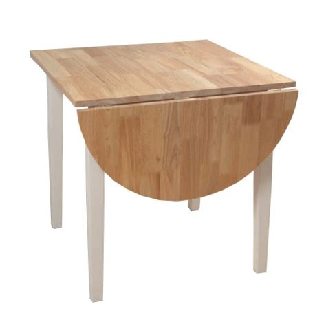 counter high table and chairs target marketing systems two toned drop leaf