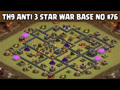 5 anti 3 war base clash of clans town 9 anti 3 war base layout 5 an